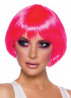 Seduction Neon Pink Wig