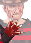 Adult Fright Nail Glove