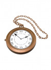 Giant Rapper's Clock Necklace - Storybook Accessory