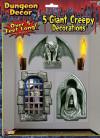 Giant Haunted Dungeon Decoration - Gargoyle