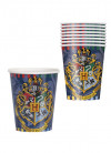 Harry Potter Hogwarts Paper Cups 25cl – 8pk