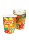 Hawaiian Paper Cups 25cl - 6pk
