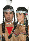 Indian Wig - Black Plaits