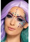Coloured Jewel Face Gems