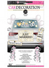 Wedding car decorating kit - Just Married! - 17 pieces