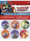 Justice League Superhero Favour Bouncy Balls – 6pk