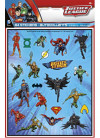 Justice League Superhero Favour Sticker Sheets – 84 Stickers