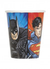 Justice League Superhero Paper Cups 25cl – 8pk