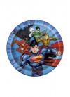 Justice League Superhero Paper Plates 17.5cm – 8pk