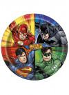 Justice League Superhero Paper Plates 22cm – 8pk