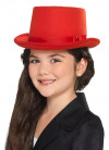 Red Top Hat - Kids Size