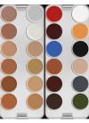 Kryolan Supracolor Palette - 24 N Colours