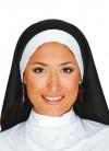 Long Flowing Black and White nuns Habit Set