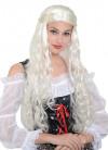 Medieval Lady Wig – White / Blonde