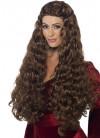 Medieval Princess - Thrones - Brown Wig