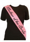 Mother of the Bride Sash – Baby Pink