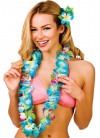 Hawaiian Orchid Lei Blue