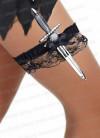 Pirate Knife & Lace Garter - 26cm