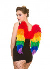 Pride Rainbow Wings