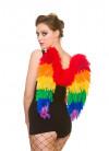 Pride Rainbow Wings - Medium 50cm x 50cm