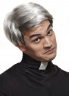 Sitcom Priest Grey Wig - Father Ted