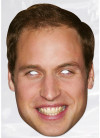 Prince William Royalty Card Face Mask