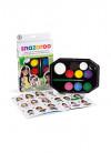 Snazaroo Rainbow Face Painting Kit – Green Box