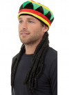 Rasta Hat With Hair