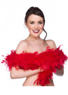 Feather Boa Red 60g