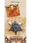 Sheriff Badge - Metal 65mm