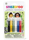 Snazaroo Rainbow Face Painting Sticks – 6 Pack