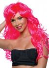 Vixen Wavy Wig Neon Pink