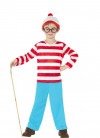 Where's Wally (Boys) Costume