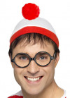 Where's Wally Hat And Glasses