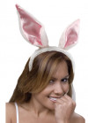 Bunny Ears - White & Pink