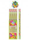 Giant Multicoloured Confetti Cannon - 80cm - Biodegradable