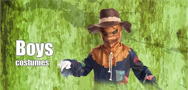 Boys Halloween Fancy Dress Costumes