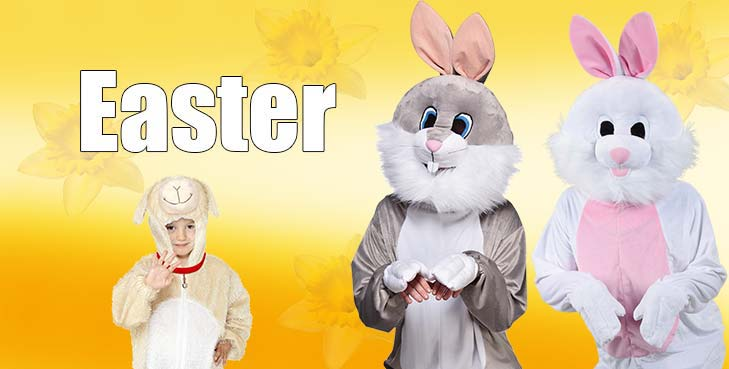 Happy Easter 21st April 2019 Costumes and Accessories