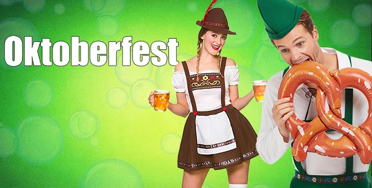 Our Costumes are the ideal choice to recreate the atmosphere of one of the most famous beer festivals in the whole world!