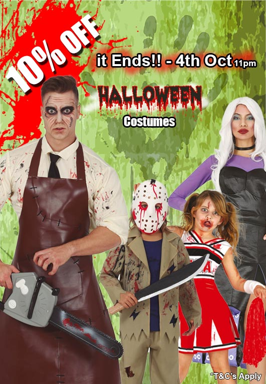 Halloween Costumes and Accessories