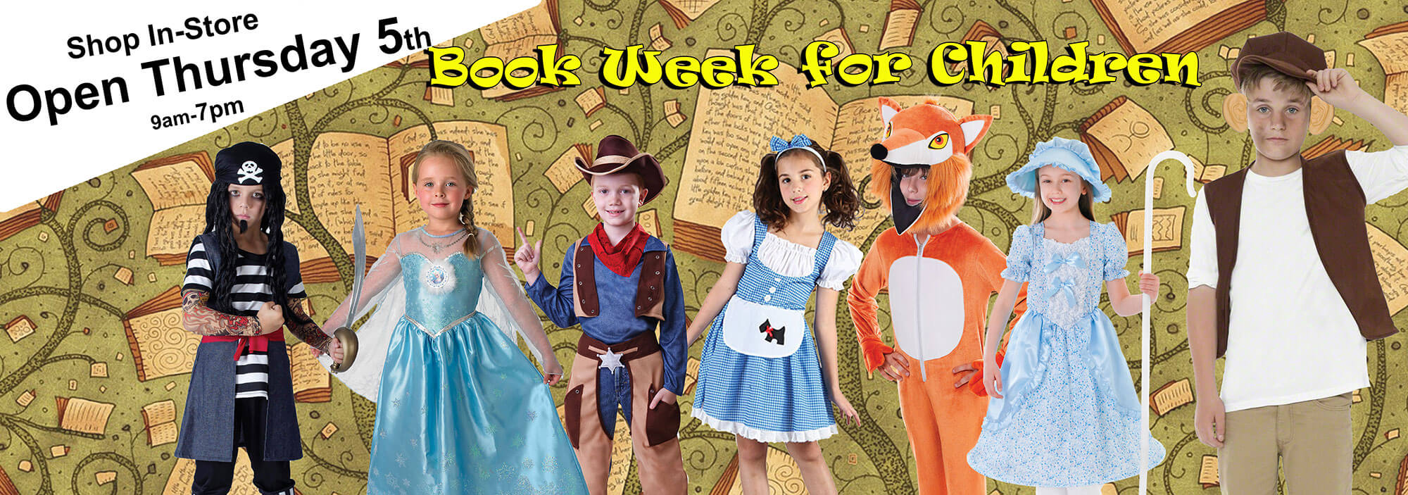 Childrens Bookweek Book Day Fancy Dress Ideas