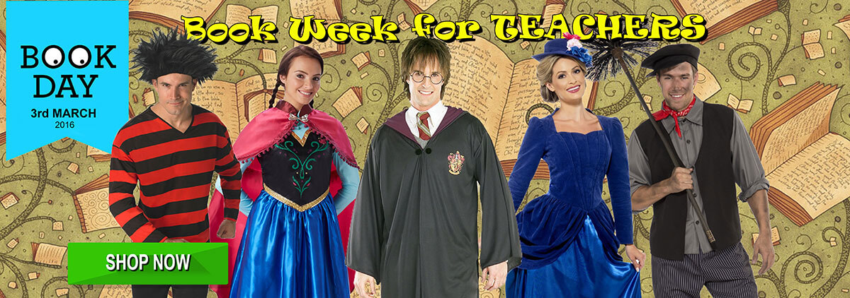 Adults Bookweek Book Day Fancy Dress Ideas