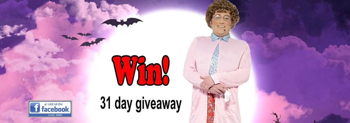 Try you luck today & Enter our Facebook 31 Days of Giveaways!