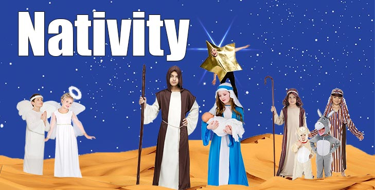 Complete Nativity Scene - All your favourite Characters!