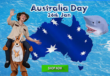 Australian Day party essentials Fancy dress Costumes Accessories & Flags!
