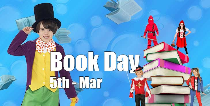 Inspire young imaginations with our world book day Costumes!