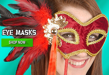 Great selection of Masked Ball Eye Masks For Men & Women