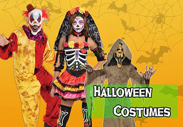 Hundreds of Spooky Costumes for all the family!