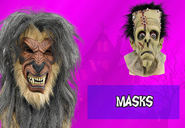 Great selection of Scary Halloween Masks