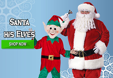 Costumes for Santa and his Hard Working Elves this Christmas!